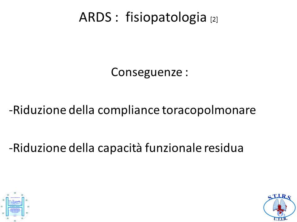 ARDS : fisiopatologia [2]
